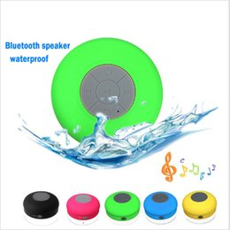 water resistant bluetooth shower speaker Coupons - Wholesale- 2016 NEW Water Resistant mini portable Shower Bluetooth Speaker with Sucker Support Hands-free Calls Function for Mobile Phone