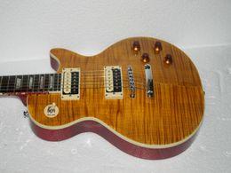 Wholesale Slash Appetite Destruction - Custom Shop Slash Appetite for Destruction AFD VOS Butterscotch Electric Guitar Free shipping