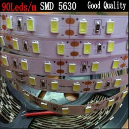 Wholesale Led Light Strips Price Cheap - 90LEDs m SMD 5630 led strip Flexible light Non waterproof 5M 450 LED tape 5730 DC 12V home decoration, Cheap price, good quality