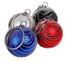 Wholesale Fashion Accessories Suppliers - Fashion Women Lady Pellet Bag Crystal Evening Clutch Bag Purse Handbag Shoulder bag Wedding Bridal Accessories Supplier
