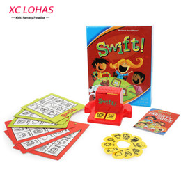 Wholesale Bingo Game - Learn English Words Children Puzzle Swift Bingo Cards Learning Educational Toys English Word Picture Match Game Baby Gift