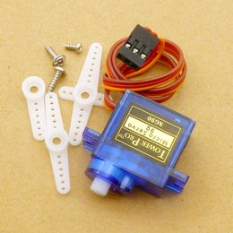 Wholesale Helicopter Car Rc - SG90 9g Mini Micro Servo for RC for RC 250 450 Helicopter Airplane Car 5pcs lot Wholesale