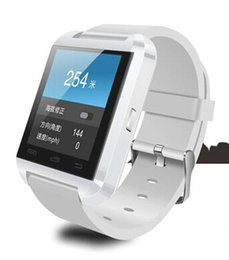 Wholesale Smart Phone 4s - Smartwatch U8 Watch Smart Watch Wrist Watches for iPhone 4 4S 5 5S Samsung S4 S5 Note 2 Note 3 HTC Android Phone