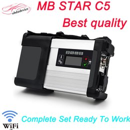 Wholesale Star Compact C3 - Best quality MB SD C5 Star C5 SD connect compact 5 support wifi without software better than star C4&C3