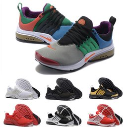 Wholesale Womens Flat Shoes Glitter - New 2017 Air Presto Womens Mens Running Shoes Presto Ultra BR QS Oreo Outdoor Fashion Jogging Sneakers Size EUR 36-46