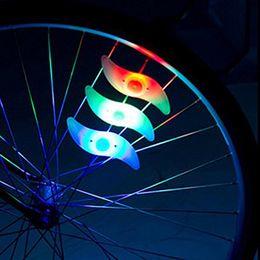 Wholesale Cool Bike Lights - With Bettery Bike Light New Bike Accessories Led Wheel Spoke lamp Cool Velo Bicycle Wheel Light NEW Bicycle Accessories