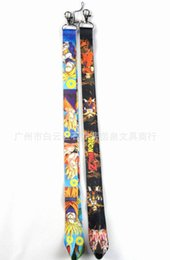 Wholesale Key Id Neck Strap Lanyards - Free Shipping Anime Cartoon Dragon Ball Z LANYARD For Key Card ID Chain Neck Straps Party Gifts Wholesale