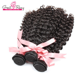 """Wholesale Remi Curly - 100% Cambodian Human Hair Weave Double Weft Extensions 8""""~30"""" Unprocessed Remi Hair 3pcs Natural Color Dyeable 7A Curly Wave Hair extension"""