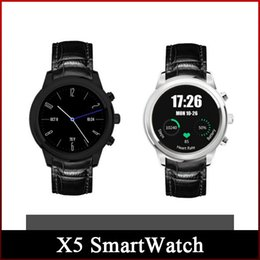 """Wholesale Smart Phones Amoled - 2016 New X5 SmartWatch 1.4"""" AMOLED Display 3G WiFi GPS Dual Bluetooth Smart Watch Clock Phone for iOS Android Phone"""