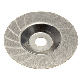 Wholesale Grit Wheels - 100mm 4 Inch THK Diamond Coated Grinding Grind Disc Round Grit Wheel