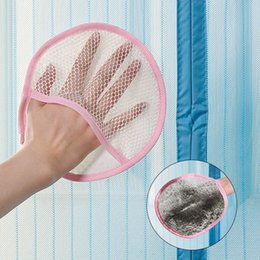 Wholesale Cleaning Household Products - Originality Door curtain Cleaning cloth Cleaning Gloves Hair loss Household products Gauze dedusting Gloves