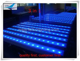 Wholesale Led Bar Rgb Dmx - cheap outdoor led lights dmx led wall washer 18x3w rgb led light bar wall washers