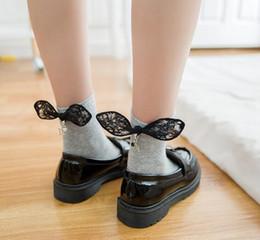 Wholesale Autumn Pendants - Lace Socks Teens Women Sock Top Quality FALL Winter Cute Horoscopes Pendant Cotton Socks Ladies Lace Ankle Socks Korea Sock 932