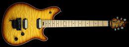 Wholesale Tobacco Sunburst - Super Rare Edward Van Halen Wolf Music Man Ernie Axis Tobacco Sunburst Electric Guitar Tremolo Bridge Back Cover Drop Shipping