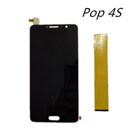Wholesale Alcatel Lcd - Wholesale- 5.5'' new highscreen screen For alcatel Pop 4S 5095K 5095y ot5095 Touch Screen Digitizer Glass Sensor + LCD Display Panel Screen