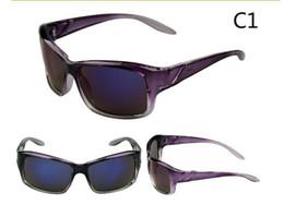 Wholesale Spy Sunglasses Black - 10 pcs 8 Colors Spied Logo Full Frame Anti-Reflection Bicycle Bike Sports Eyewear Sunglasses Men Women Riding Fishing Glasses Free Shipping