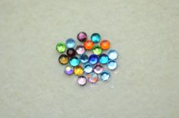 Wholesale Hotfix Rhinestone Sets - 2.8mm Mixed Color DMC Hotfix Colour Crystal Rhinestones 1440 pcs rhinestone set crystal hot fix rhinestones