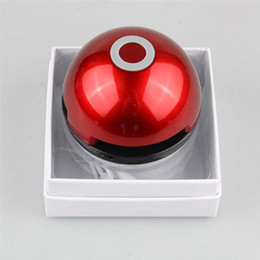 Wholesale Mini Bluetooth Speaker Ball - Poke Bluetooth Speaker Colorful Night Light LED Dance Magic Pokeball Elves Ball Wireless Stereo Music MP3 Subwoofer with packakge