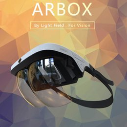 Wholesale Virtual Windows - Hot sale black augmented reality headset 3d vr box vr Virtual reality box 3d glasses for android ios and windows