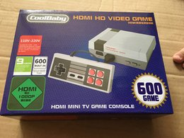 Wholesale Mini Hdmi Video - HD HDMI Out Retro Classic Game TV Video Handheld Game Console Entertainment System Built-in 600 Classic Games for NES mini Game