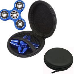Wholesale Earphones Boxes - 2017 NEWEST Wholesale 1pcs Gift box For Fidget Hand Spinner Finger Toy Focus & Earphone USB Line Bag Box Case free shipping
