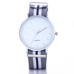 Wholesale Ladies Luxury Briefs - 2016 Women's Men's Nylon Watch Luxury Fashion Casual Quartz Watches Ladies Female Relojes Mujer Montre Brief NO LOGO Wristwatch