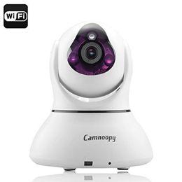 Wholesale Intelligent Ip - 720P Wireless Pan Tilt WiFi Intelligent IP Camera Baby Monitor with Two Way Audio P2P Plug Play Night Vision