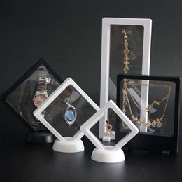 Wholesale earring stands - Jewelry Display Earring Bracelet Necklace Ring Display Stand Multifunctional Clear Accessories Display Box