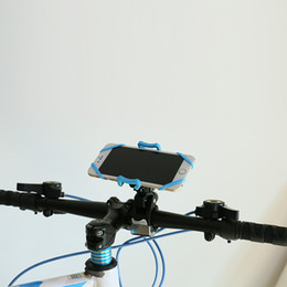 Wholesale Iphone 4s Case Cars - Hot selling Bicycle Accessories Handlebar Clip Mount Bracket Mobile Phone Bike Holder Stand For iPhone 4 4S 5 5s 6 6s plus Samsung Case car