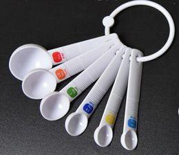 Neu kommen 6PC weißer Messlöffel-Tee-Schaufel Teaspoon Baking Cooking Kitchen Tool von Fabrikanten