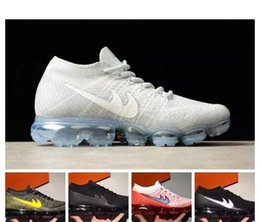 Wholesale Trainers Best Quality - Wholesale with best quality OG Vapor mex white black Hot Sale Women Men running Shoes sports sneakers Discount Outdoor trainers 2018