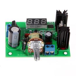 Wholesale Tracking Voltage Regulator - Adjustable Voltage Regulator Step-down Power Supply Module with LED Meter voltage volt stabilizer Free Shipping E5M1 order<$18no track