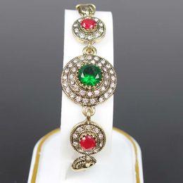 Wholesale Emerald Green Glass Plates - Crystal gem stone bracelet emerald glass simple snake chain lobster clasp bracelet full of diamond jewelry