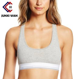 Wholesale Push Up Bra Tank Top - Brand Cotton Women Sports Bra Yoga Running Gym Fitness Athletic Sexy Push-up Workout Jogging Tank Top Bra ropa deportiva WWX0081