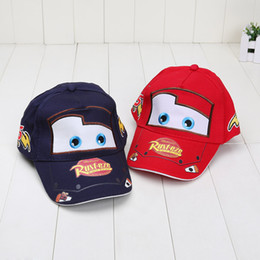 Wholesale Cartoons Cars Kids - Pixar car Hat Pixar cars Hat Kid Child Hat Baseball cap Children caps boy hat