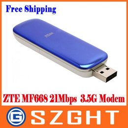 envio gratuito de zte Desconto Frete grátis por atacado ZTE MF668 21 Mbps Wireless 3.5G HSUPA Modem Usb Frete grátis WEIL