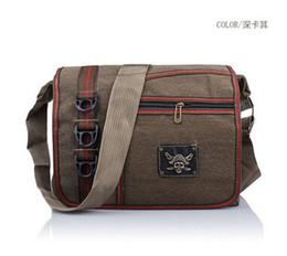 Wholesale Backpack Shipping Cover - Free shipping new men's shoulder bag backpack bag canvas messenger bag cap casual handbags Europe