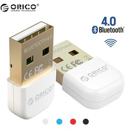 Wholesale External Usb Bluetooth For Laptop - ORICO BTA-403 Bluetooth Mini Bluetooth 4.0 Adapter For Your Phone and Tablet- White