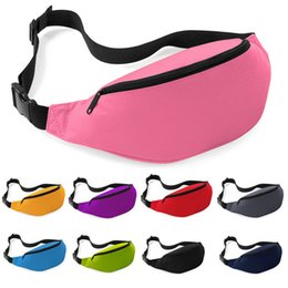 Wholesale Nylon Pouches - 2016 high quality cheap Fashion Unisex Bag Travel Handy Hiking Sport Fanny Pack Waist Belt Zip Pouch