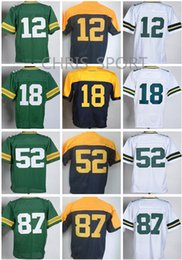 Wholesale Aaron Rodgers Jersey Football - New Elite football jerseys Aaron Rodgers Jordy Nelson Randall Cobb Clay Matthews Ha Ha Clinton-Dix Kenny Clark Nick Perry game unifrom
