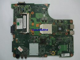 Wholesale Mb Ddr2 - for Toshiba L300 L300D V000138300 6050A2175001-MB-A02 DDR2 Laptop motherboard mainboard system board fully tested & working perfect