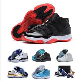 Wholesale Sport Shoes Discount China - Wholesale Cheap China Retro11 XI Bred Basketball Shoes Athletics Boots Sports Shoes Discount Sports Men Women Basketball Shoes