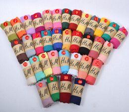 Wholesale Ladies Winter Headbands - 1PCS autumn winter Korean woman Pure color scarf ladies headband Cotton and linen scarf 20colors huge 180*75cm hot sale free shipping