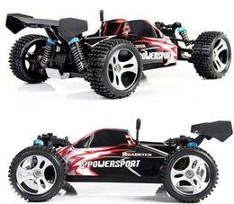 Wholesale Toy Cars Shaft - High speed car A959 2.4G 4CH Shaft Drive RC High Speed Stunt Racing Car Remote Control Super Power Off-Road Vehicle toy carFSWB