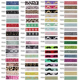 "Wholesale Headband Elastic For Baby - 1183styles printed fold over elastic headband,5 8"" print FOE for Baby headband,baby girl headbands,printing fold over elastic 100 Yards Roll"