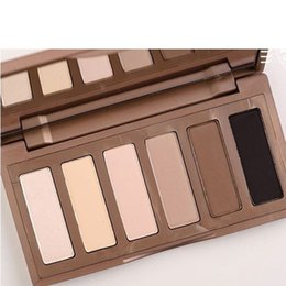 Wholesale Make Up Eyes Shadows Sale - Hot sale brand new makeup basic eyeshadow palette 6 colors Professional make up eye shadow cosmetics