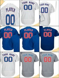 Wholesale Road Number - Customize Any Name Number Baseball Jerseys COOL Flex Custom Chicago Men Women Kid Alternate Home Road 2017 Postseason Patch 2016 WS Champion