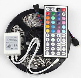 Wholesale Rgb Color Meter - Waterproof glue RGB colorful color LED soft light 5050 lights with 300 lamp lights   60 meters LLFA