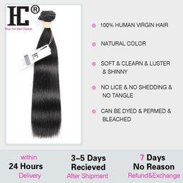 2019 cabelo humano da onda profunda francesa 8A Cabelo Virgem Brasileiro Em Linha Reta 4 Bundles Rosa Produtos para o Cabelo Tecer Cabelo Humano Não Transformados Mink Cabelo Liso Brasileira Cabelo Brasileiro HC