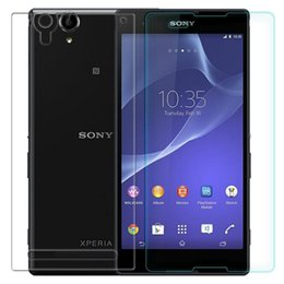 Wholesale Xperia Arcs - Tempered Glass Film for Sony Xperia T2 Ultra XM50H Arc Edge 2.5D High Screen Protector Film